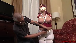As soon as he gagged me, I started to cum in my panties!