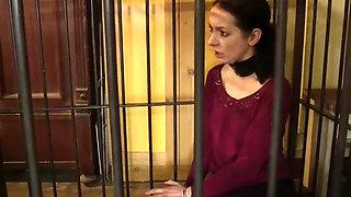bondage lesbian in cage 193