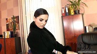 Slinky Secretary Eve Angel