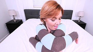 PervMom - Hot Mom Finds Stepsons Jizz Rag