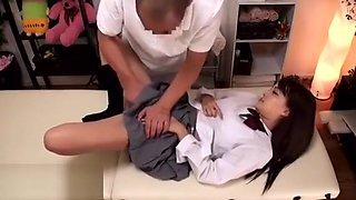 Japanese 18yo schoolgirl massage turned in sex