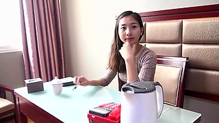 Chinese teen girl in jail