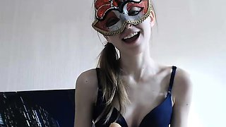 Extreme amateur pov blowjob and eating cum