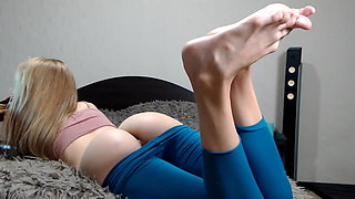 Sexy Babe With Hot Ass And Butthole With Soles By UV1988
