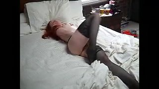 girl with redhead caught masturbating.