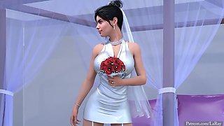 White Bride BBC Interracial