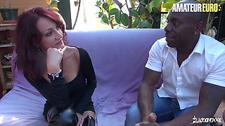 Joss Lescaf And Lyna Cypher - Newbie French Mature Interracial Ass Fuck With Monster Bbc
