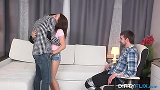 Leana in Punished into cuckolding role