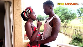 Real African Girl Has Neighbour BBC