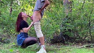 Public Sex with Pretty Redhead Wife LeoKleo. Amateur Video
