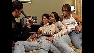 Foursome With Twins Timeo And Marianna 2, Upscaled To 4k