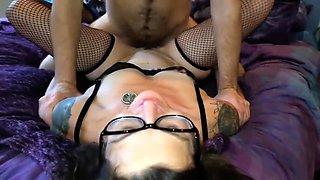 Sweetelle420 Gets Her Glasses Glazed By Luke London