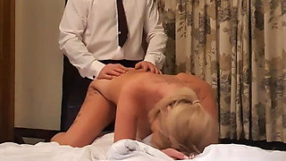 Hotwife getting hair pulled