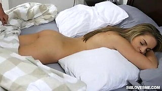 Kimmy Granger – Innocent girl in bathroom fucked by step brother