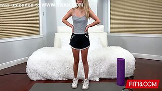 Sofia Su - Casting And Creampie Of Chinese Student In Yoga Pants