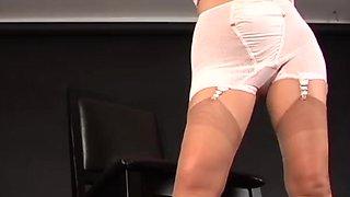 Vintage lingerie bras panties girdles photoshoot