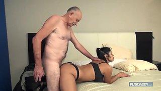 Ajx old man and daughter big cock 54