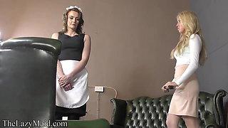 Servant punished