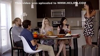 My Family Pies-Threesome hot cousins get me horny
