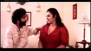 Mallu actress Sajini Boobs grabbed