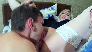 Two Sluts Dominate a Slave. (part 2)