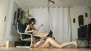74. Hot Prostitute Mistresses Ballbusted Her Money Slaves