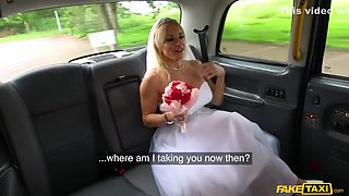 A Sex Hungry Bride Hooks Up With A Taxi Driver On Her Wedding Day - Tara Spades And John Bishop