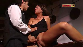 Italian lady love young man