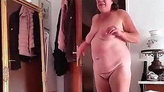 German granny naked