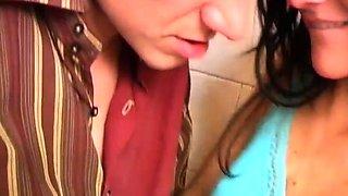 School girl blowjob Debbie torn up in public toilet