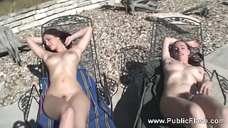 Two Girls Naked On Ranch, Alison Brie Doppleganger