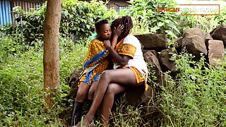 Real African Lesbians Have Secret Outdoors Affair