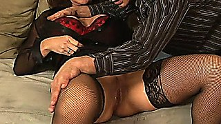 Deauxma uses her feminine charms and wet cunt on this lucky guy