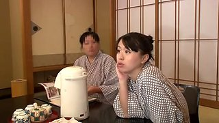 Japanese porn video with a big-titted lady fucking