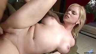 Busty Cougar Pounding