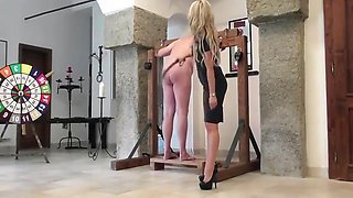 Miss Courtney - Strap And Two Canes