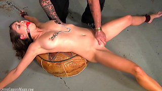 Young Chrissy Kidnapped Whipped and Vibrated by Madman
