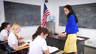 Shes new teen creampie After School Detention