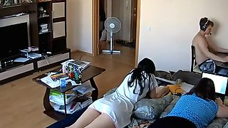 Spying friend's girl with a hidden camera