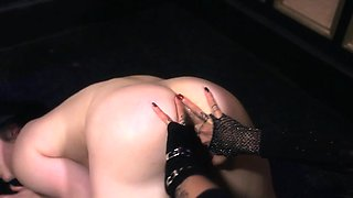 British lezdom fucking a chick with a strapon