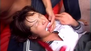 Amazing Japanese girl in Hottest JAV uncensored DP clip