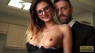 PASCALSSUBSLUTS - Submissive Eva Johnson Anally Fucked Hard