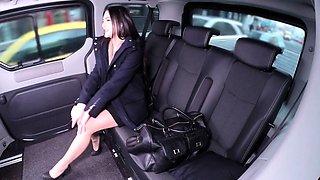 VipSexVault - Cabbie George Uhl seduced by brunette Czech