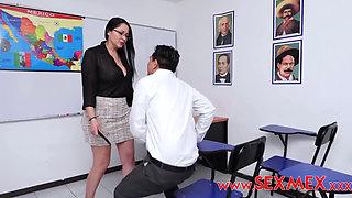 PAMELA AT CLASS ROOM