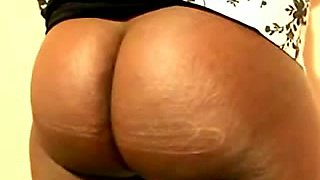 My fat bottomed ebony girlfriend must be punished for being a whore