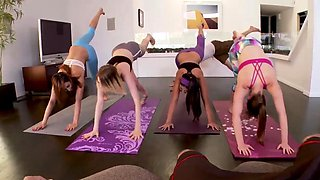Passion group Hot Sneaky Yoga