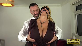 Pascal White And Shannon Boobs - Gagged Before Rough Anal