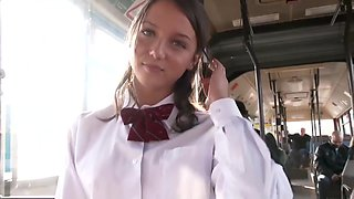 Russian Girl On Bus 48hr