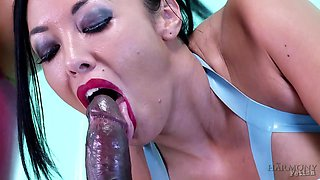 Jasmine Jae & Rio Lee & Omar in Latex Bitches get Rammed by Huge Black Cock and Medical Instruments - KINK
