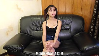Delectable Filipina Teen Maid Will Do Anything For A Job